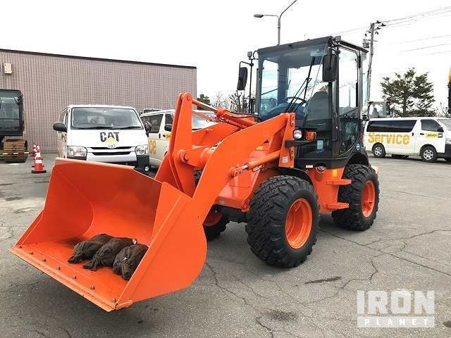 2018 年 Hitachi ZW50-5B Wheel Loader, Wheel Loader