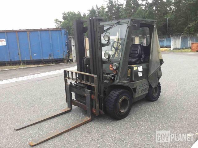 1987 Still DFG 2/4002 Pneumatic Tire Forklift, Forklift