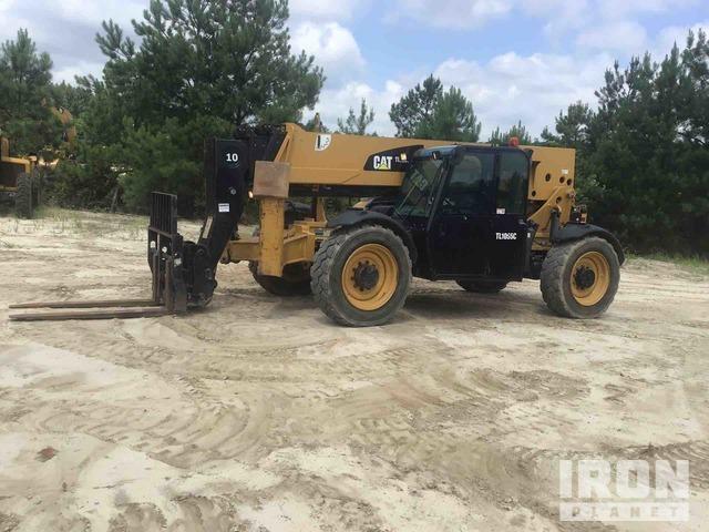 2013 Cat TL1055C 4x4 Telehandler, Telescopic Forklift