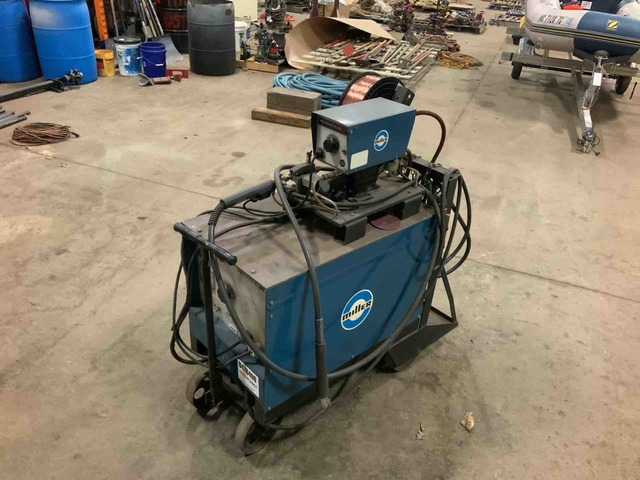 Miller Electric MP-30E Electric Welder & Millermatic 10E Wire Feeder