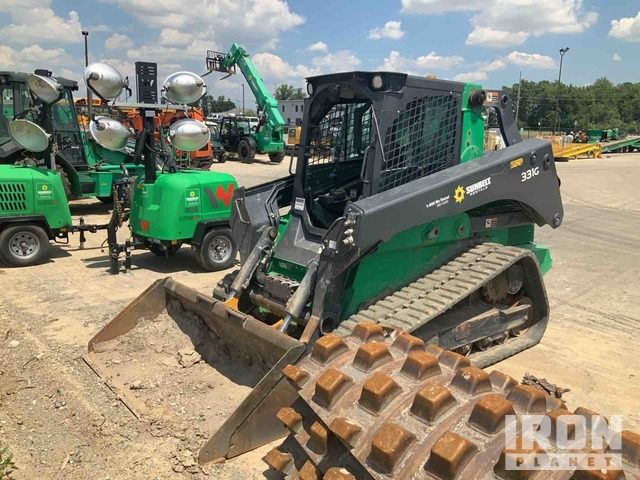 2017 (unverified) John Deere 331G Compact Track Loader, Parts/Stationary Construction-Other
