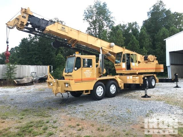 1985 (unverified) Grove 8440G Hydraulic Truck Crane, Hydraulic Truck Crane