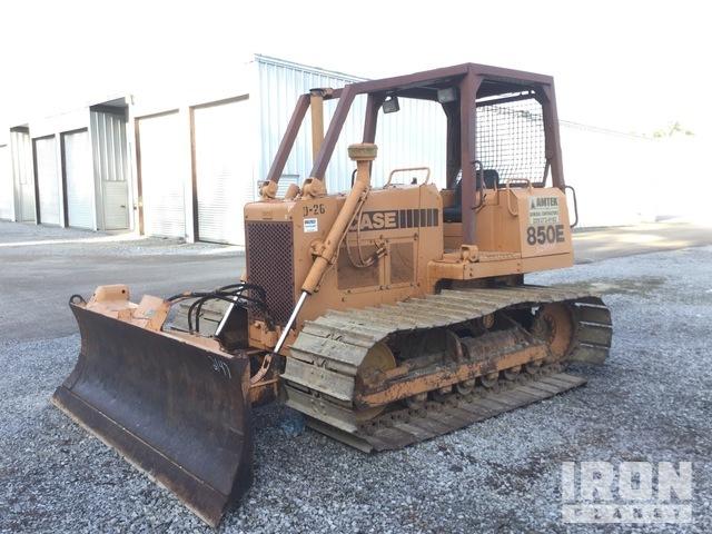 Case 850E Crawler Dozer, Crawler Tractor