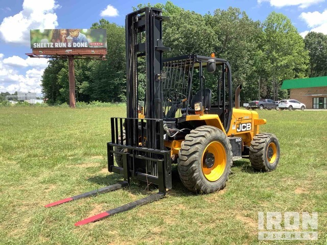 2015 (unverified) JCB 930-4 6000 lb 4x4 Rough Terrain Forklift, Rough Terrain Forklift