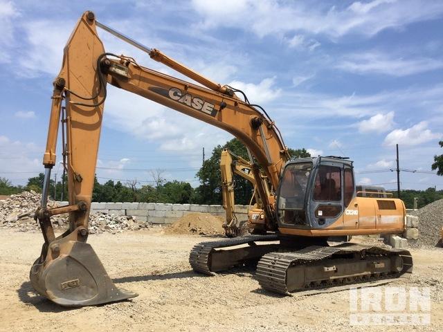 Case CX240 Track Excavator, Hydraulic Excavator