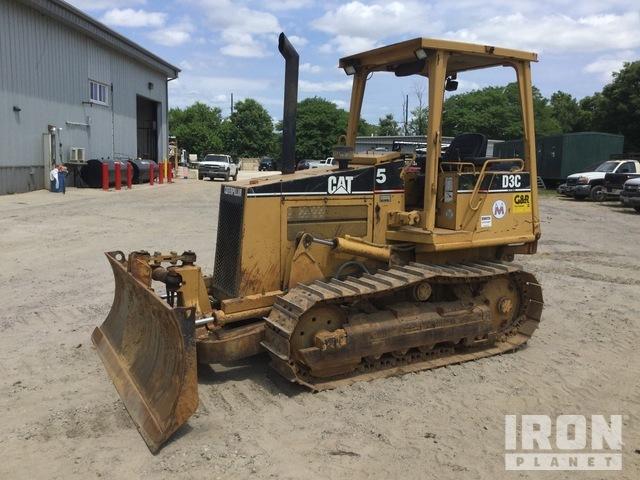 Cat D3C Series III Crawler Dozer, Crawler Tractor