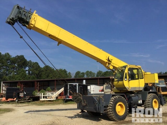 2000 Terex RT230 60000 lb 4x4 Rough Terrain Crane, Rough Terrain Crane