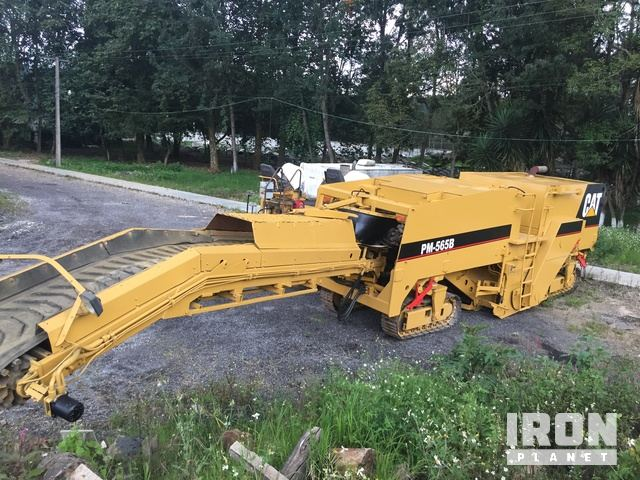 2000 Cat PM-565B Tracked Cold Planer, Cold Planer
