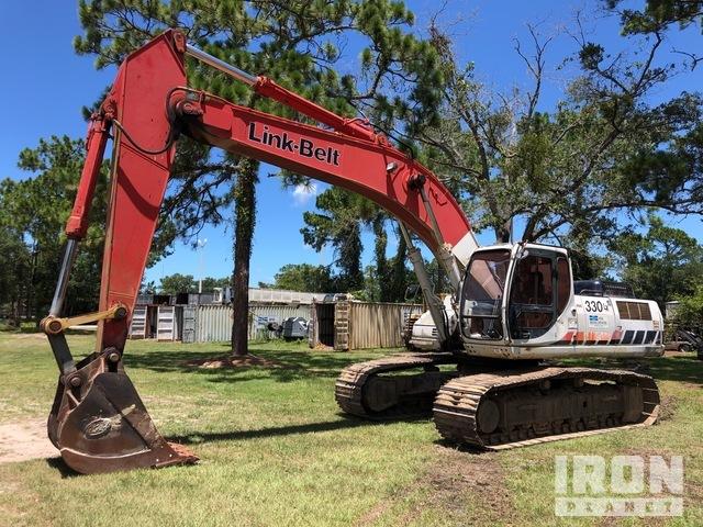Link-Belt 330LX Track Excavator, Hydraulic Excavator