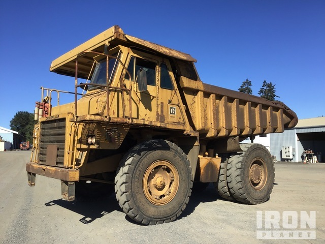 1980 Cat 769C Off-Road End Dump Truck, Rock Truck