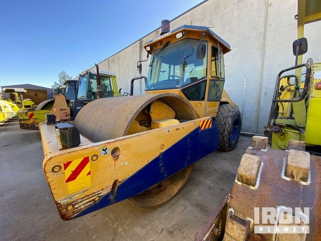 2004 Dynapac CA602D Vibratory Single Drum Roller, Roller