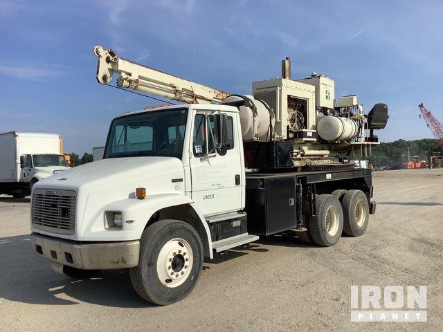 Terex/Reedrill Texhoma Drill on 1998 Freightliner FL80 6x4 T/A Truck, Drill Truck
