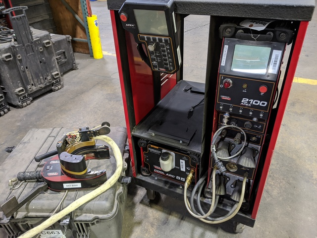 Lincoln Electric C663 Tig Apex 2100 Package