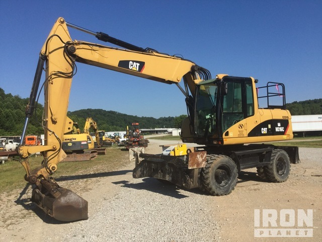 Cat M316C Wheel Excavator, Mobile Excavator