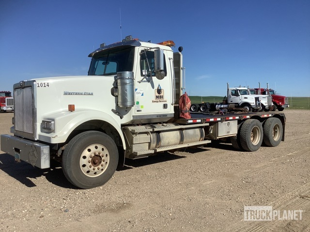 2011 Western Star 4900FA 6x4 T/A Winch Truck, Winch Tractor