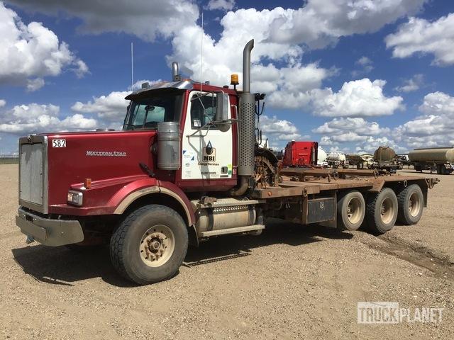 2011 Western Star 4900SA Tri/A Winch Truck, Winch Tractor