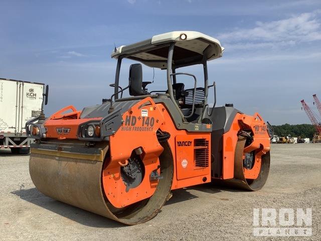 2011 Hamm HD140 Pneumatic Roller, Roller