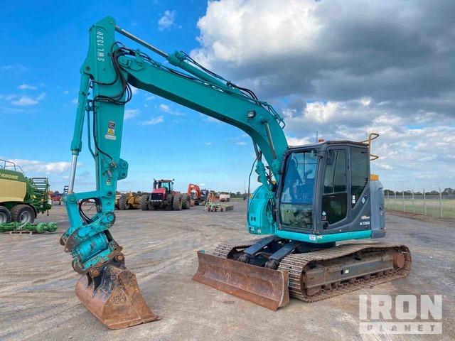 2011 Kobelco SK135SR-2 Track Excavator, Hydraulic Excavator