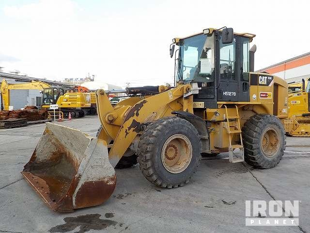 2008 年 Cat 924HZ Wheel Loader, Wheel Loader