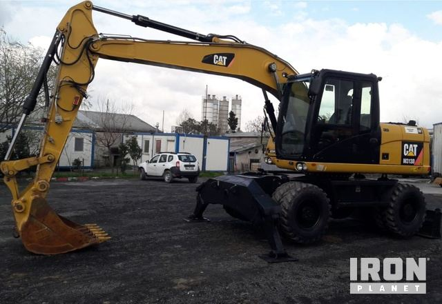 2012 Cat M313D Wheel Excavator, Mobile Excavator