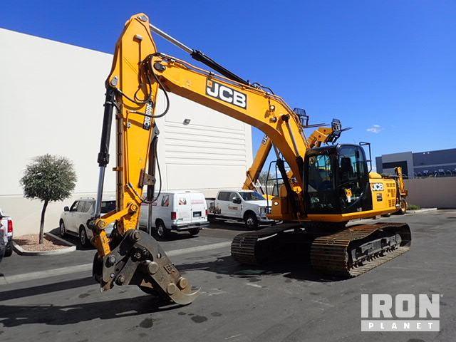 2018 (unverified) JCB JS220LC 4F Track Excavator, Hydraulic Excavator