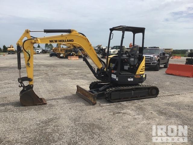 2019 (unverified) New Holland E33C Mini Excavator, Mini Excavator (1 - 4.9 Tons)