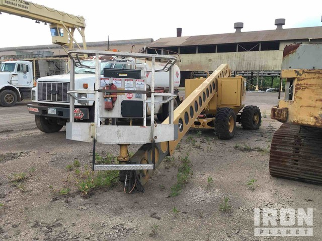 Grove AMZ66 2WD Diesel Articulating Boom Lift, Parts/Stationary Construction-Other