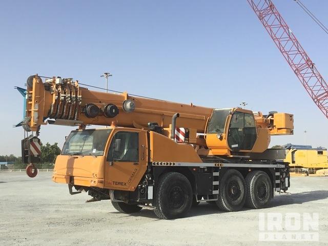 2006 Terex-Demag AC55L 60 Ton 6x6x6 All Terrain Crane, All Terrain Crane