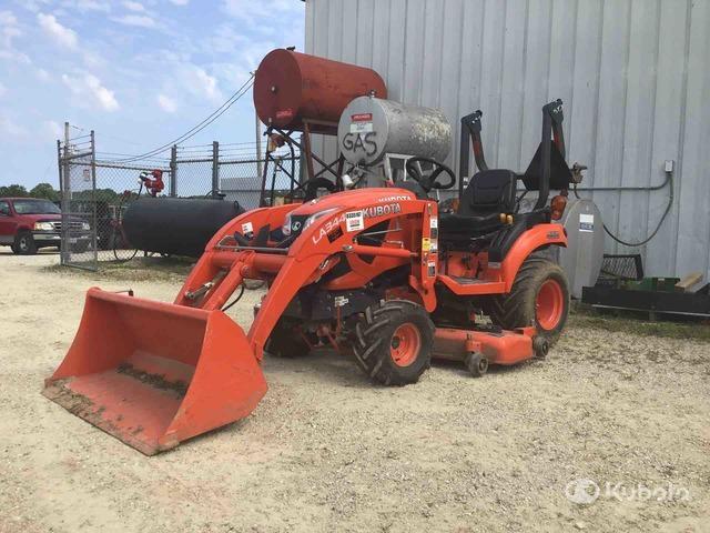 2019 (unverified) Kubota BX1880TV54 4WD Utility Tractor, Utility Tractor