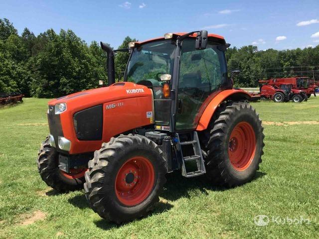 2016 (unverified) Kubota M6-111 4WD Tractor, MFWD Tractor