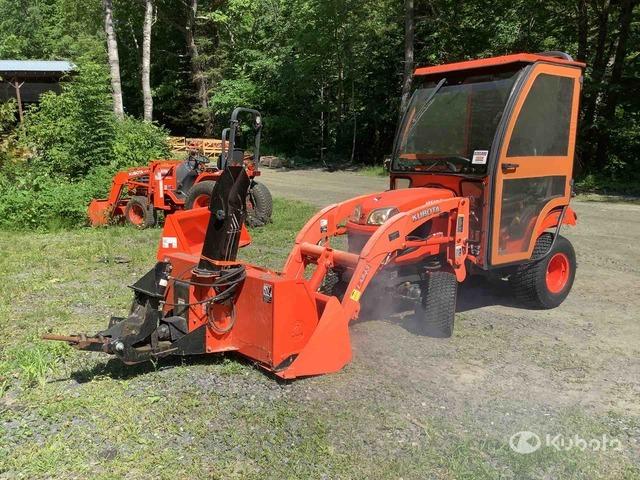 2014 (unverified) Kubota BX2370 4WD Utility Tractor, Utility Tractor
