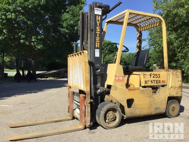 2007 Hyster S40XL 5200 lb Cushion Tire Forklift, Forklift