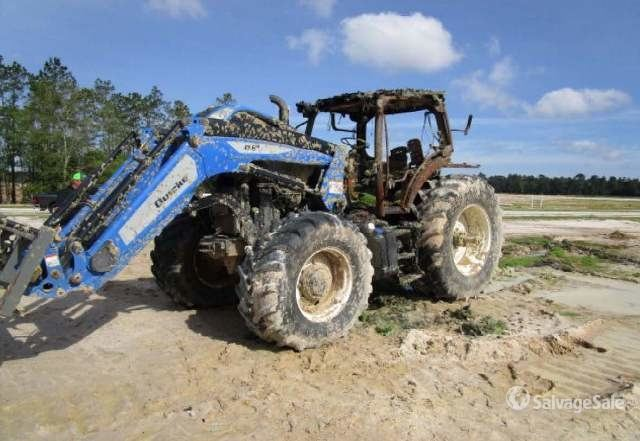 2017 (unverified) New Holland T6.180 4WD Tractor, MFWD Tractor