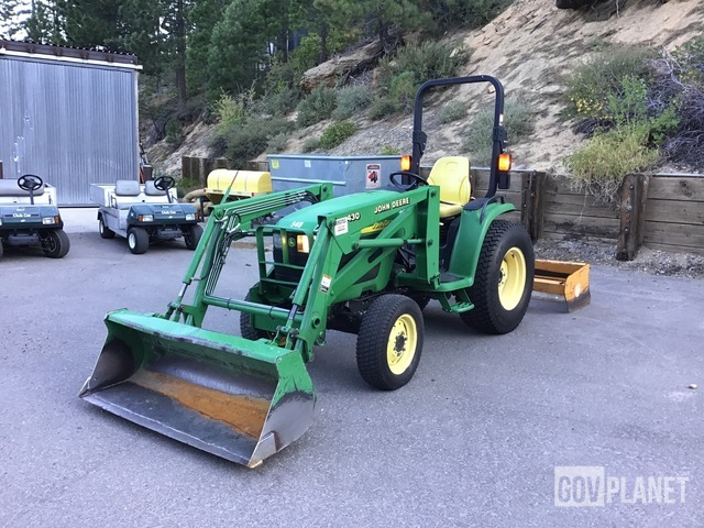 John Deere 4410 2WD Tractor, 2WD Tractor