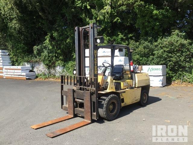 HYSTER H 110XL FL 10650 lb Pneumatic Tire Forklift, Forklift