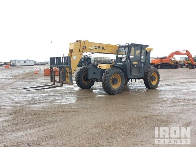 2013 Gehl RS8-44 4x4x4 8000 lb Telehandler, Telescopic Forklift