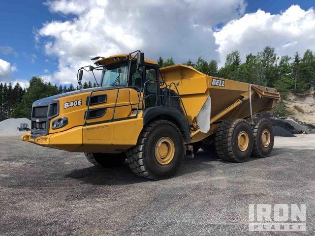 2017 Bell B40E 6x6 Articulated Dump Truck, Articulated Dump Truck