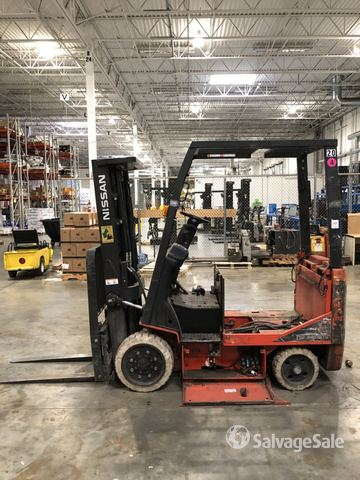 Nissan MCPG1B2L25BS Electric Forklift, Electric Forklift