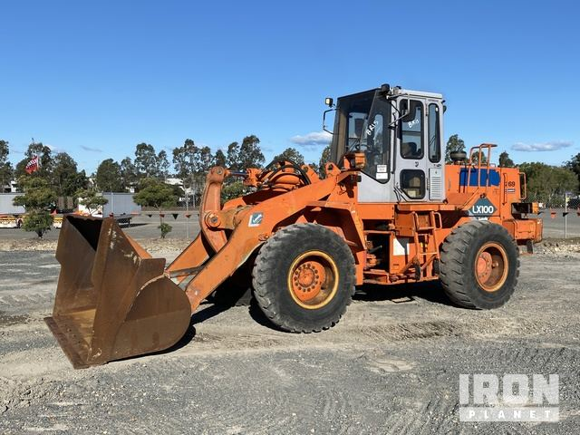1999 Hitachi LX100 Wheel Loader, Wheel Loader