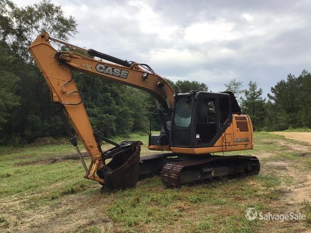 2018 Case CX130D Track Excavator, Hydraulic Excavator
