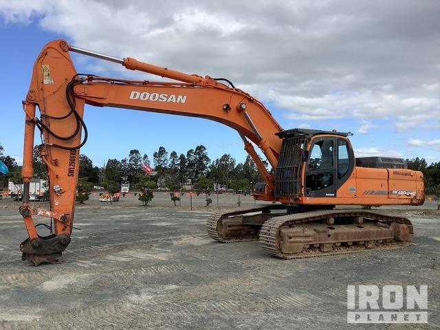 2012 Doosan 420LC Track Excavator, Hydraulic Excavator