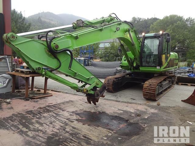 JCB JS200N Track Excavator, Hydraulic Excavator