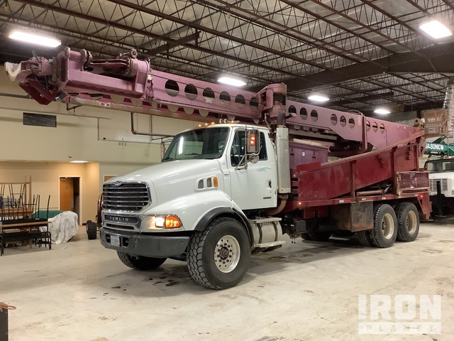 Foremost DR-12W Drill on 2003 Sterling T/A Truck, Drill Truck