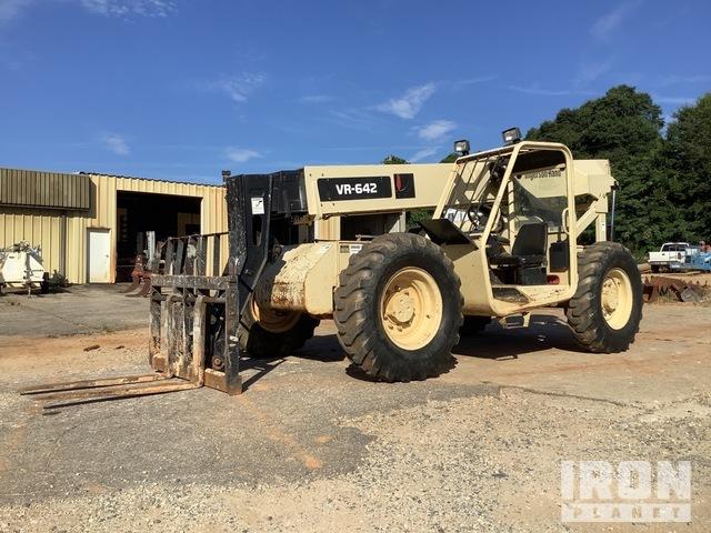 Ingersoll-Rand VR-642 4x4 6000 lb Telehandler, Telescopic Forklift