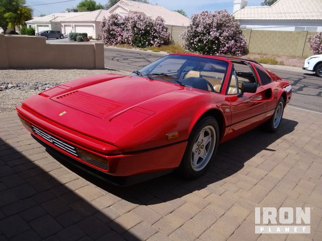 1986 Ferrari 328 GTS Spyder, Automobile