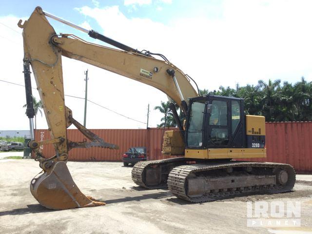 2011 Cat 328DLCR Track Excavator, Hydraulic Excavator