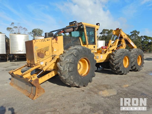 2008 Tiger Cat 635C 6x6 Wheel Skidder, Skidder