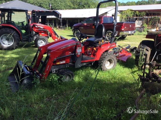 2019 Massey Ferguson GC1723E 4WD Utility Tractor, Parts/Stationary Construction-Other