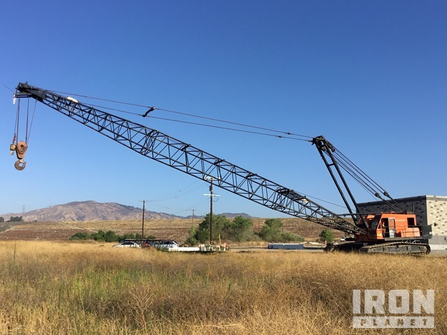 1979 Link-Belt LS518 Lattice-Boom Crawler Crane, Crawler Crane