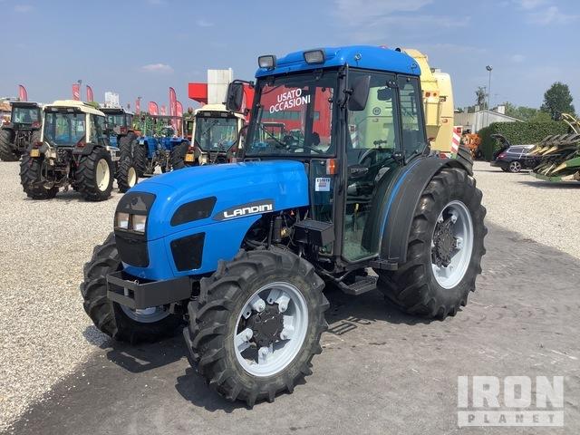2003 Landini REX 80GT 4WD Tractor, MFWD Tractor